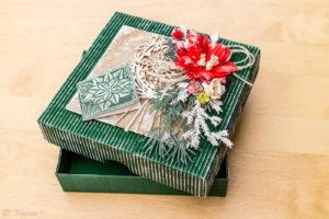 Vianočná darčeková škatuľka