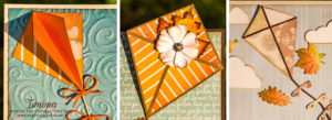 Jesenné pohľadnice so šarkanom